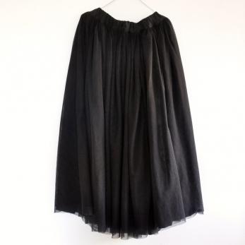Black Christmas skirt
