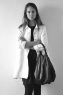 Uniform coat, thick white linen