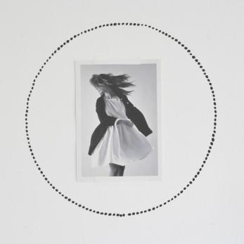 Sticker guirlande à pois noir, SHANNA MURRAY