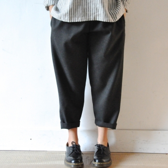 Pantalon Uniforme, lainage gris