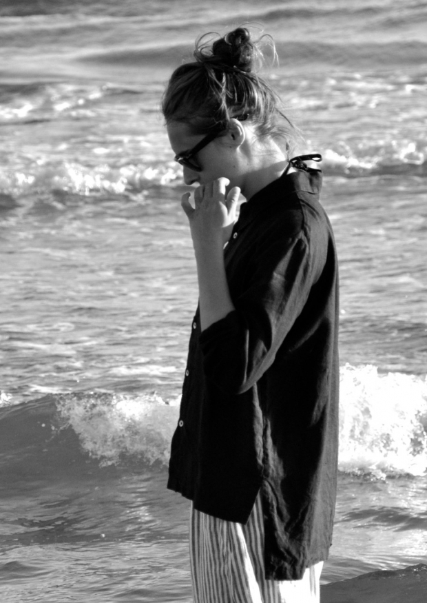 Mixt shirt, black linen