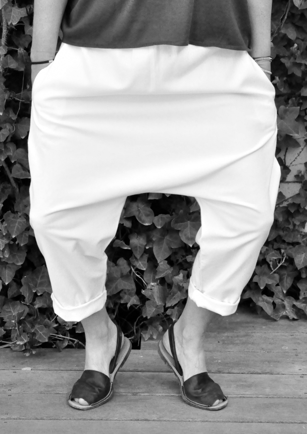 Sarouel Uniforme, coton blanc