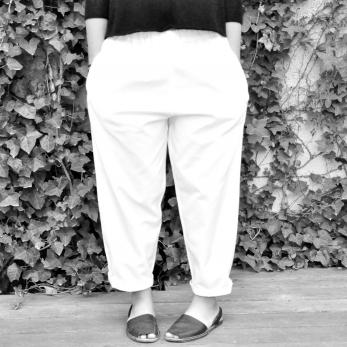 Pantalon Uniforme, coton blanc