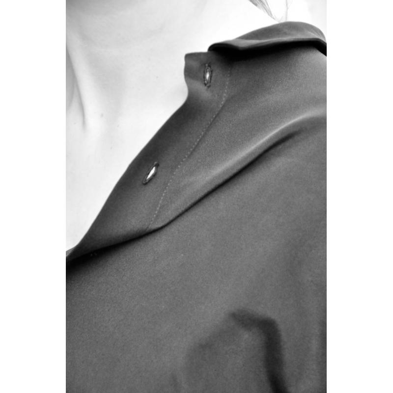 chemise homme soie noire le vestiaire de jeanne sarl. Black Bedroom Furniture Sets. Home Design Ideas
