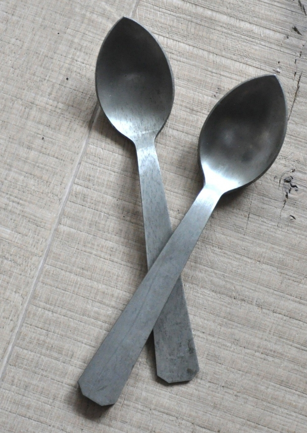 Antique silver cultery - OBJETS TROUVES
