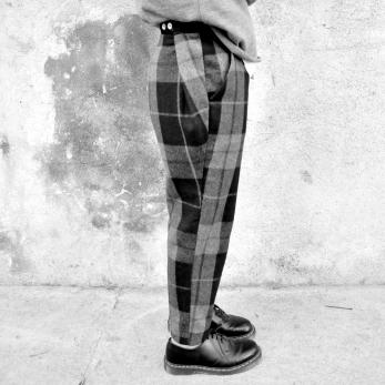 """pantalon """"homme"""", drap écossais"""