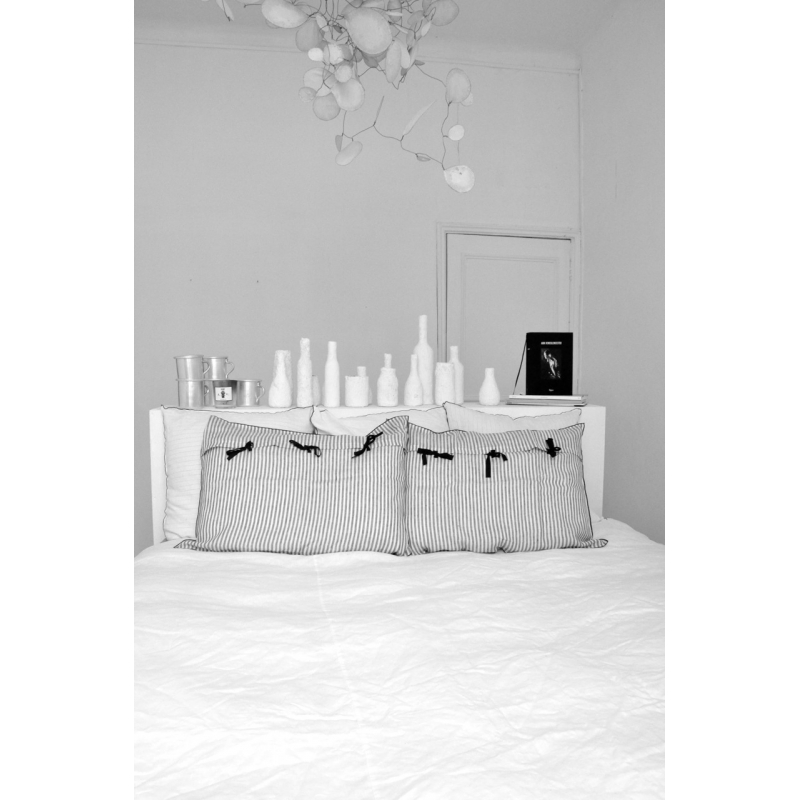 housse de couette lin blanc. Black Bedroom Furniture Sets. Home Design Ideas