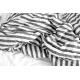 Duvet cover, large stripes linen