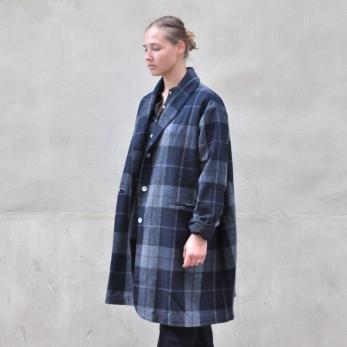 """Manteau """"femme"""", drap écossais"""
