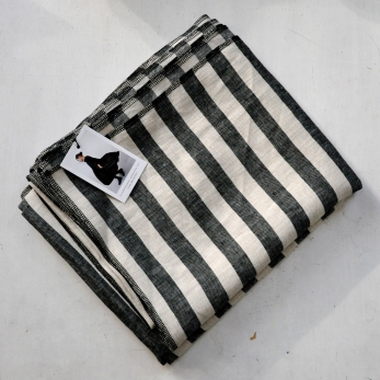 large stripes linen cloth - VDJ HOME