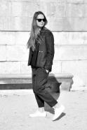 Classic trousers, grey wool drap