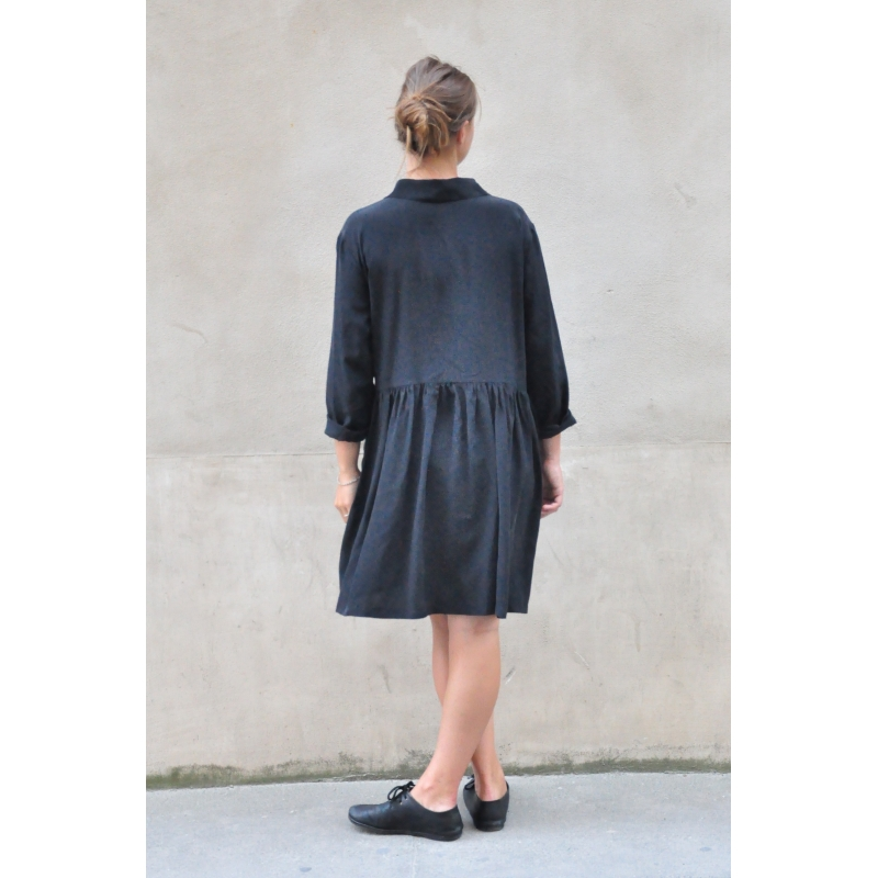 Shop black silk shirt dress at Neiman Marcus, where you will find free shipping on the latest in fashion from top designers.