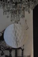 Boule alvéolée blanche