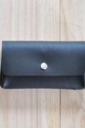 Wallet, black leather