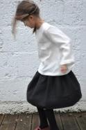 Uniform blouse, white linen