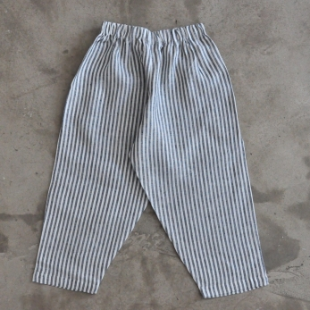 Uniform trousers, light stripes linen