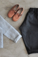 Pantalon classique, lainage gris sombre