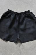 Short Uniforme, lin noir