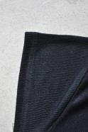 Short sleeves blouse, black bamboo