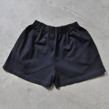 Short Uniforme, coton noir