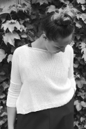 Pull JOA, coton blanc