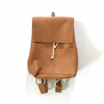 sac à dos ALICE, cuir camel