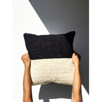 color block cushion