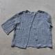 Sur-blouse, lin gris
