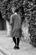 Robe-manteau, jean bleu