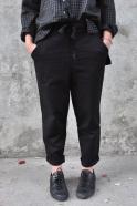 Pantalon à poches, jean noir