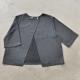Sur-blouse, lainage fin gris