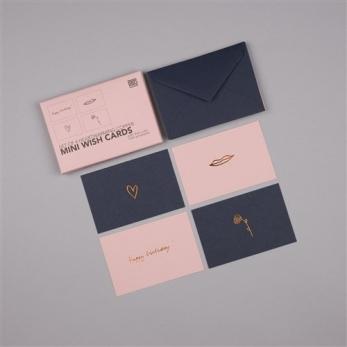 Set mini postcards