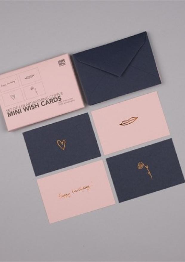Set de mini cartes postales