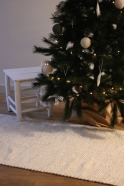 Christmas pampille, grey linen