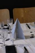 Silver confettis