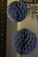 Boule alvéolée grise
