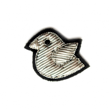 "brooch ""little bird"" silver"