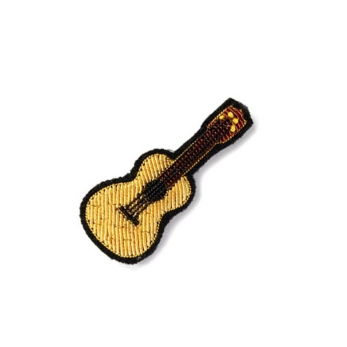 Broche Guitare or