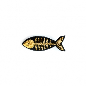 Broche Poisson or