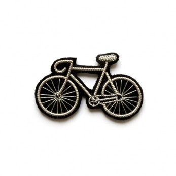 "brooch ""Bicycle"" silver"