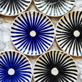 Ray plate blue