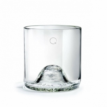 "Pack of 6 transparent glasses ""Q de bouteilles"""