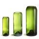 """Green vase """"Q de bouteilles"""""""
