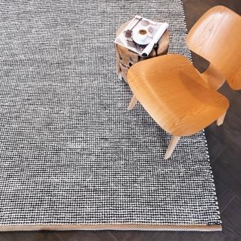 pipoca rug, black