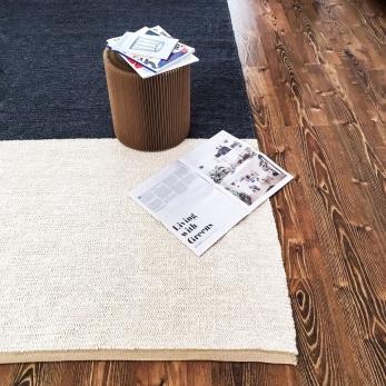 color block rug, charcoal