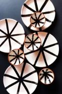 Segment plate black