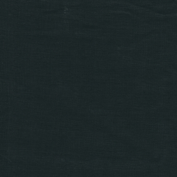 Pillow case, black linen