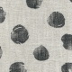 Pockets trousers, polka dots linen