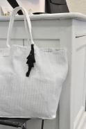Keyring Pilchard, black cotton