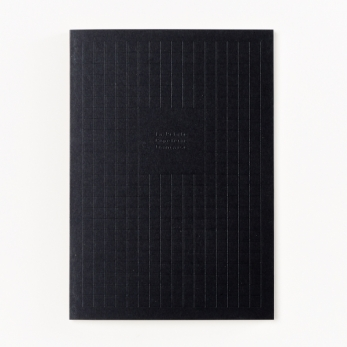 A5 Notepad, black
